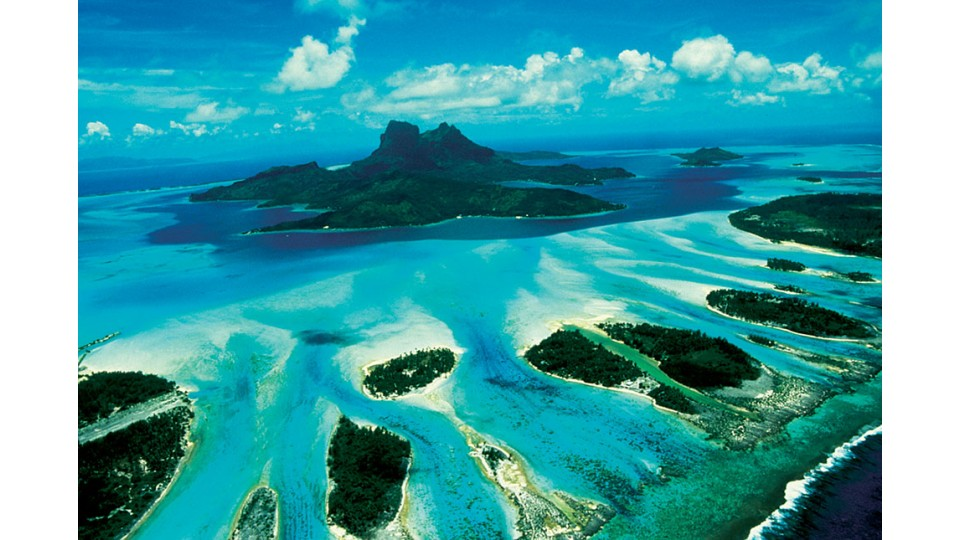 moorea une ile de polynesie francaise