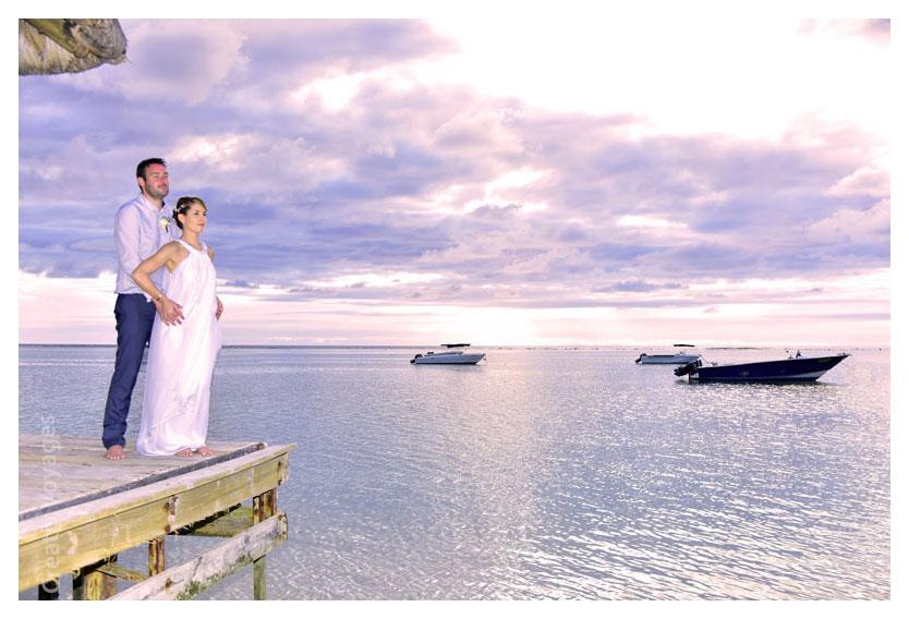 se marier à l'ile maurice, mariage paradisiaque sur la plage de la Pirogue