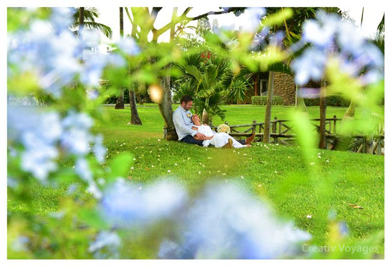 mariage à l'étranger, ile maurice, célébration sur la plage