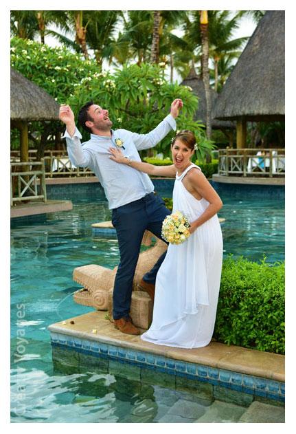 Se marier à l'Ile Maurice, hotel La Pirogue