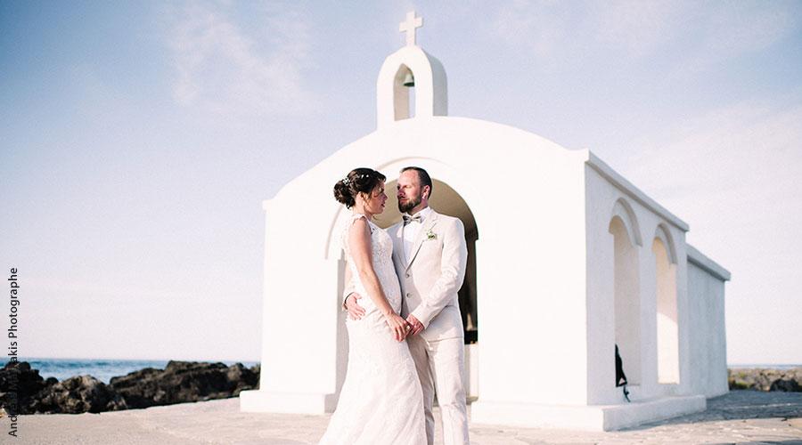 Mariage en Crète du couple Audrey et Vincent