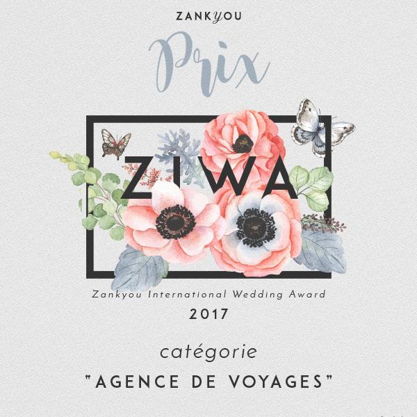 prix Zilwa catégorie Agence de voyages