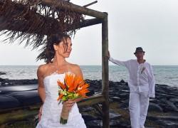 Karine+Christophe : leur mariage au Preskil