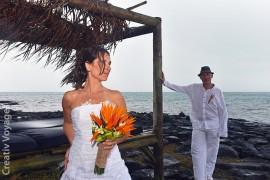 Karine+Christophe : mariage pluvieux, mariage heureux au Preskil
