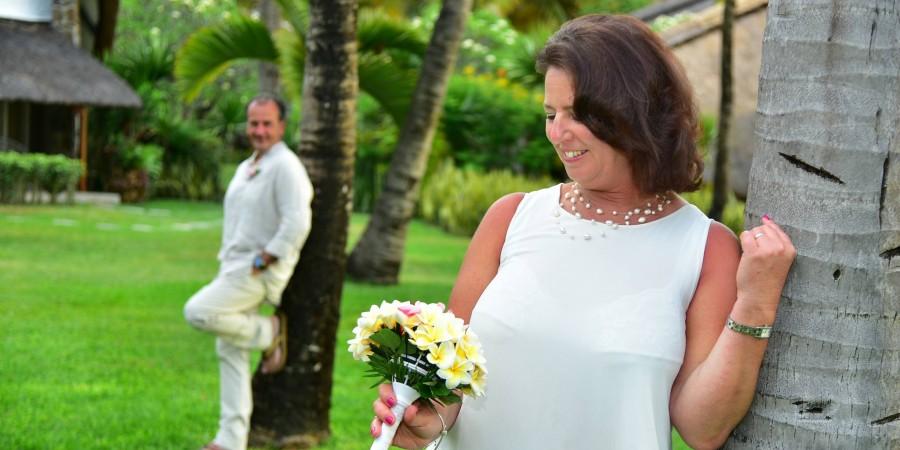 Daniela+Philippe : leurs renouvellements de vœux sous le soleil mauricien