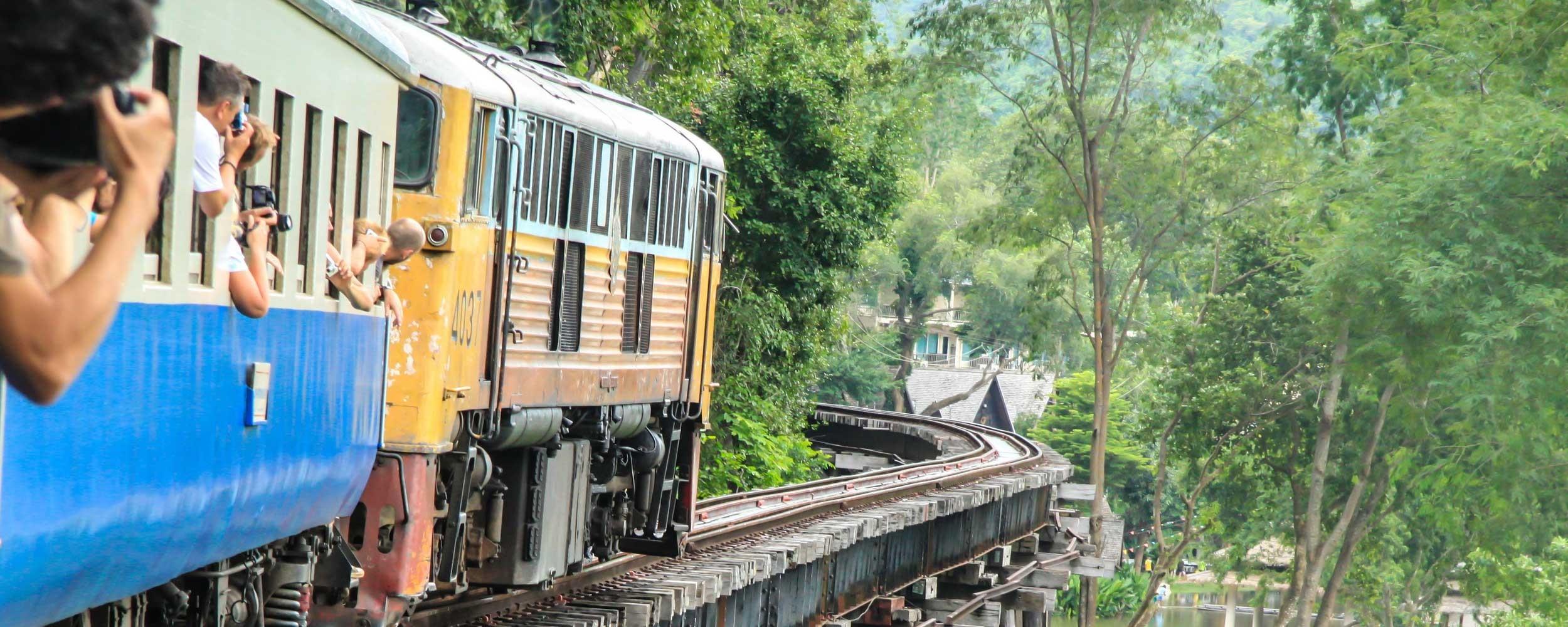 Thailande Train Pont Rivière Kwai