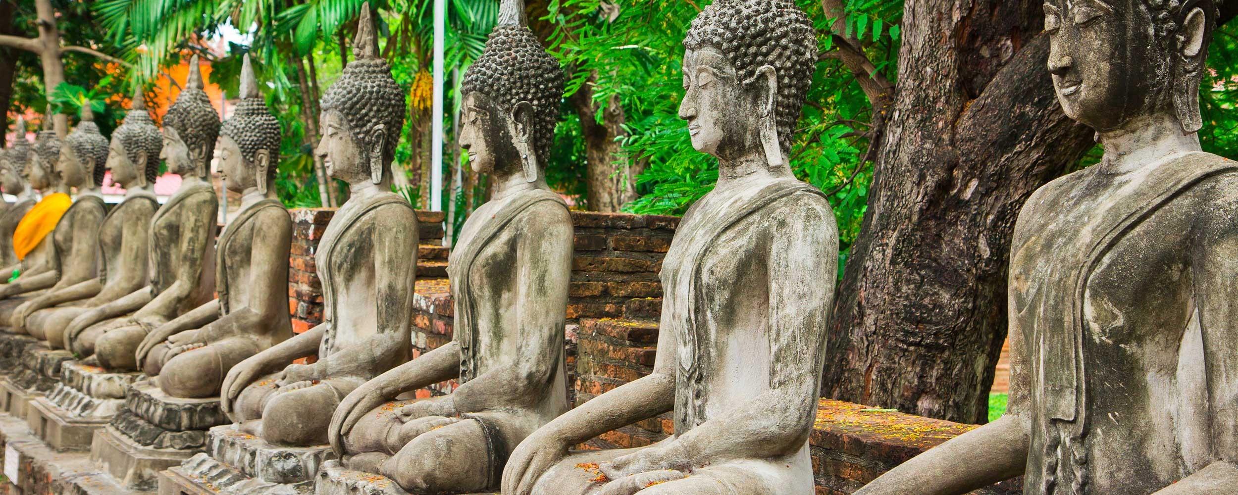 Thailande Temple à Ayutthaya