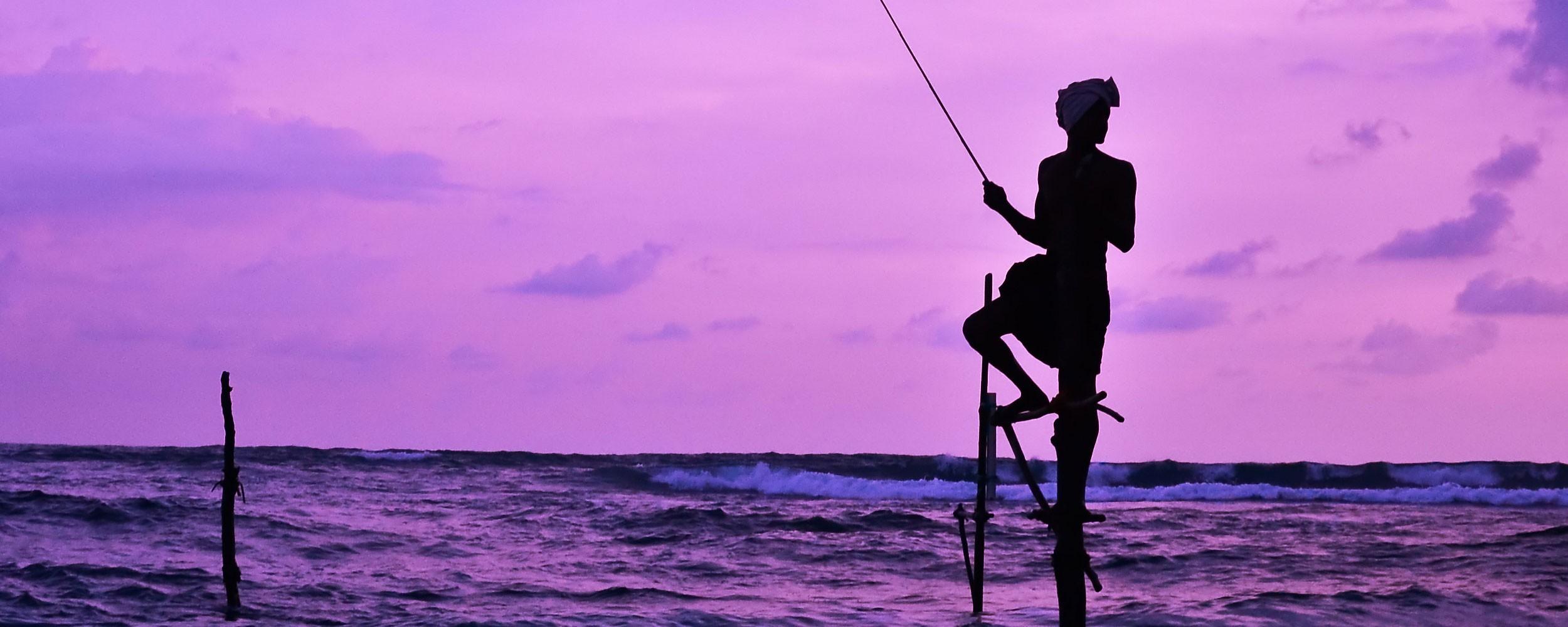 Sri lanka pêche ancestrale