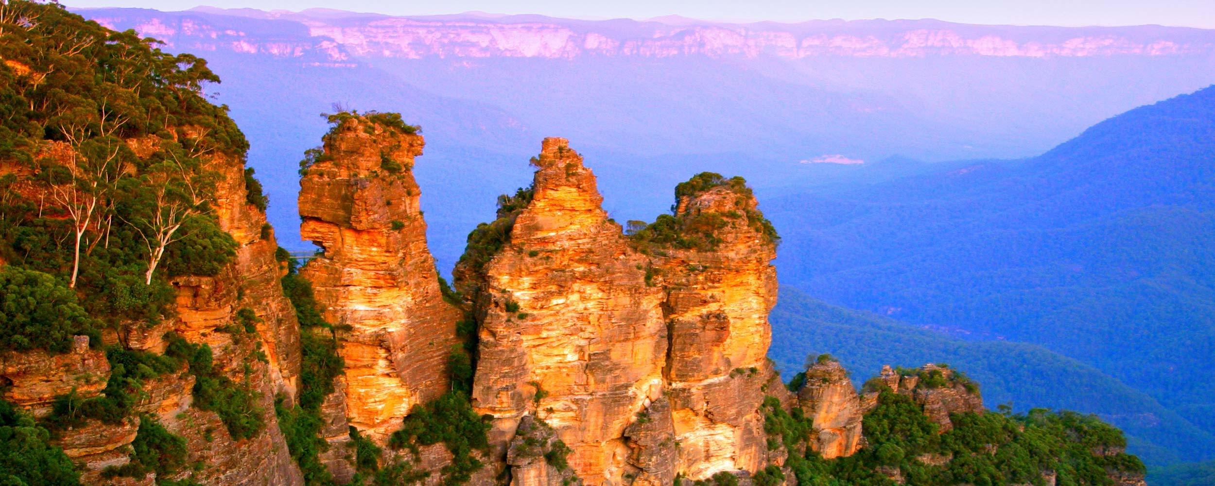 Australie proche de Sydney les Blue Montains