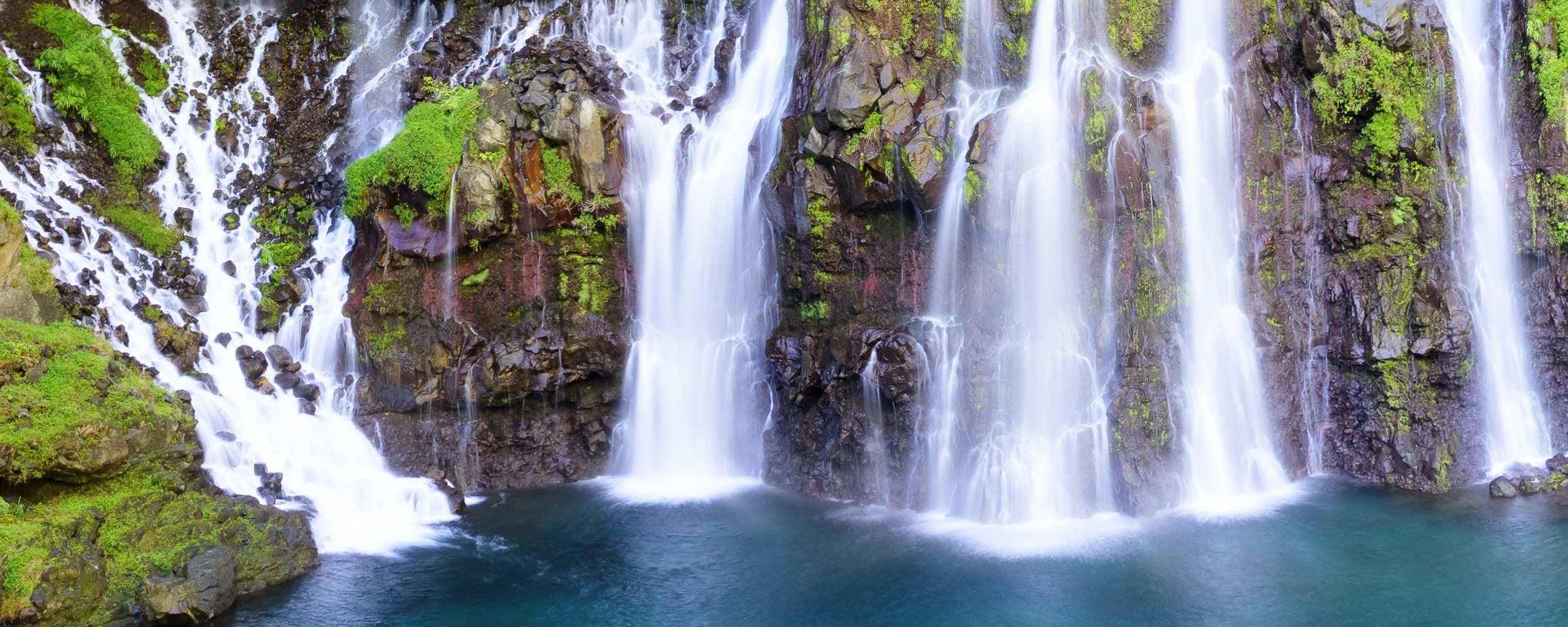 Ile Réunion, cascade Langevin