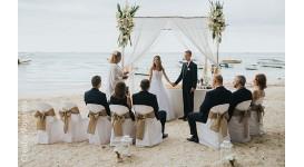 Cérémonie de Mariage sur une plage de l'Ile Maurice