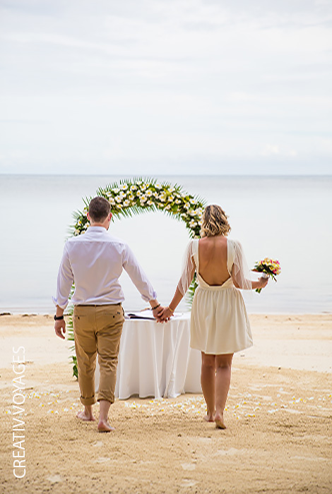 mariage intime à deux se marier aux Seychelles