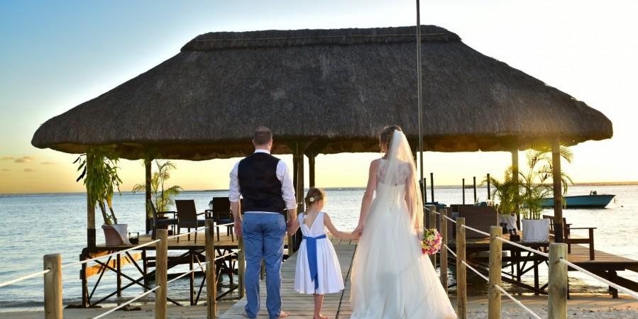 Mariage exotique à la Pirogue Ile Maurice