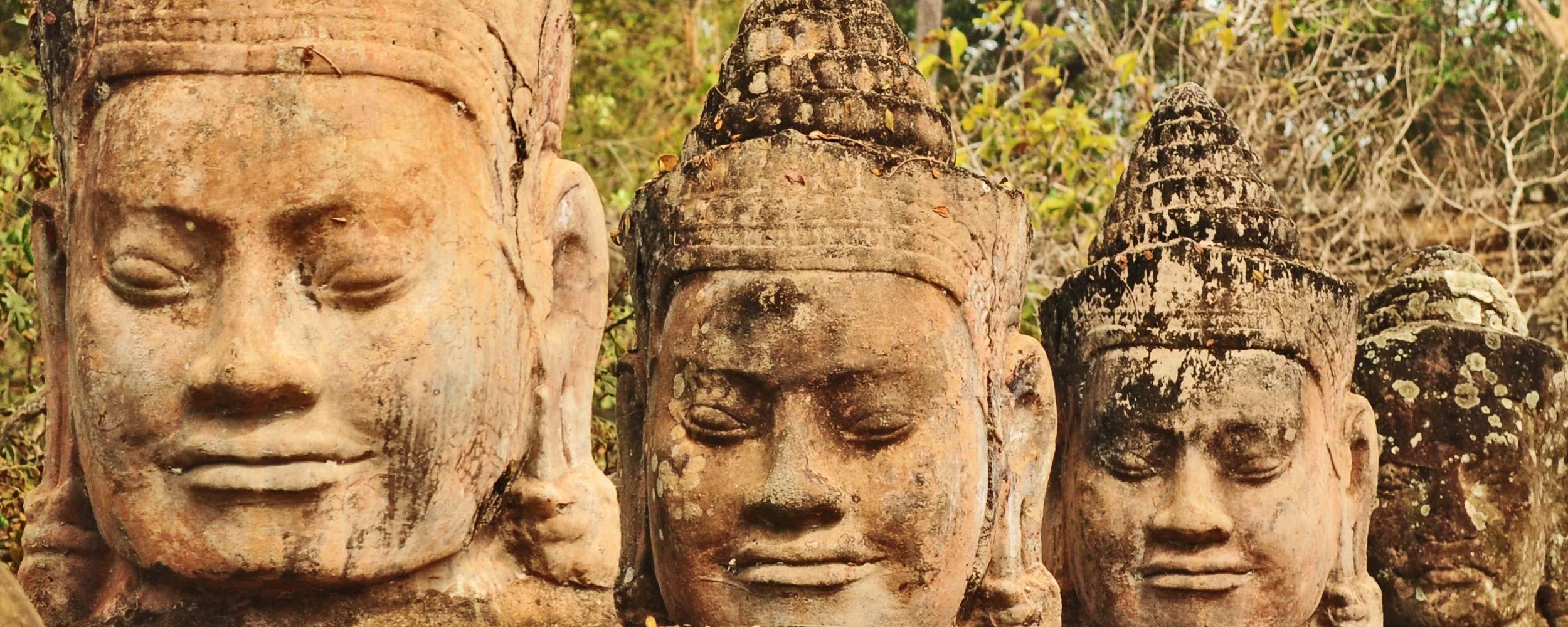 Cambodge ruines d'Angkor