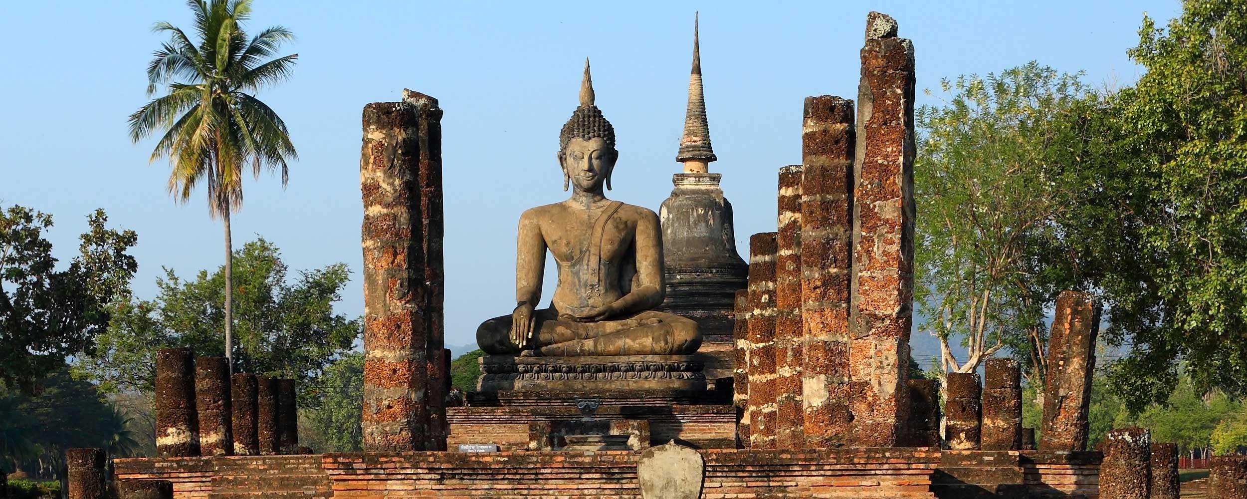 thailande temple Sukhotai