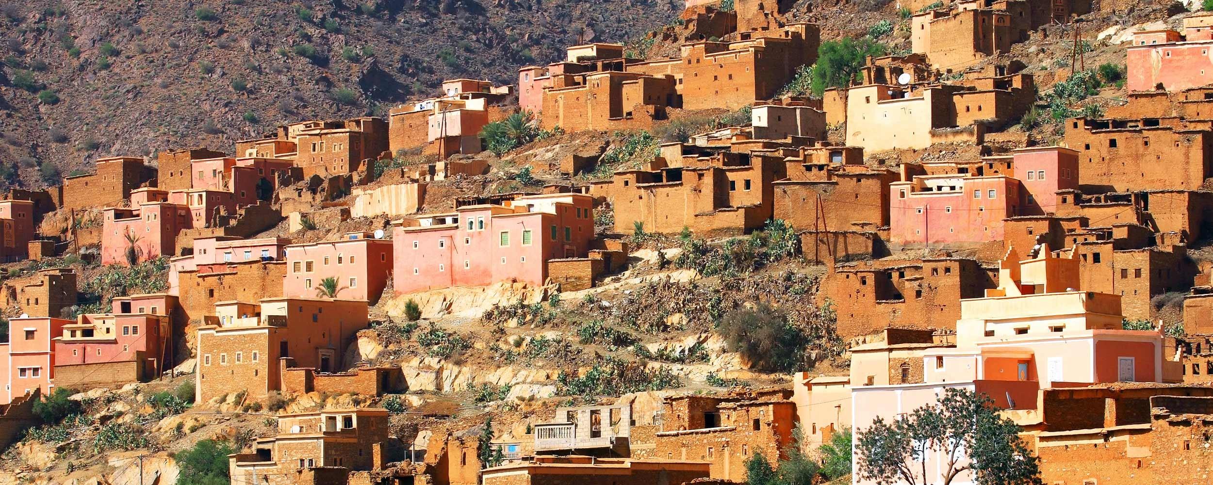 Maroc village berbere